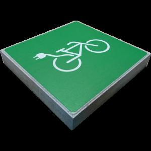 Signaaltegel - Oplaadpunt elektrische fietsen
