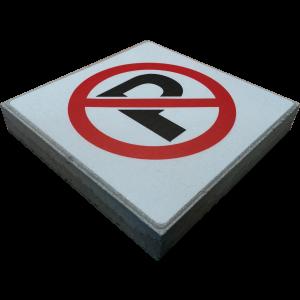 Signaaltegel - Parkeerverbod